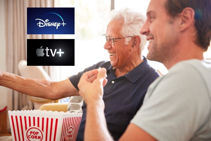 Disney+ en Apple TV+ komen naar Nederland
