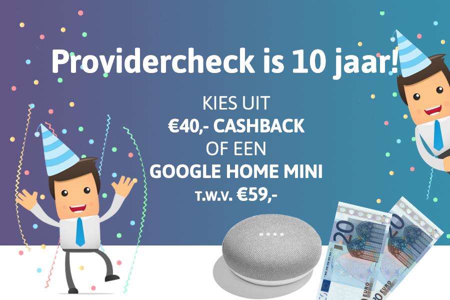 Providercheck 10 Jaar Internet Actie Providerchecknl