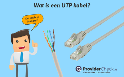Wat is een UTP kabel?