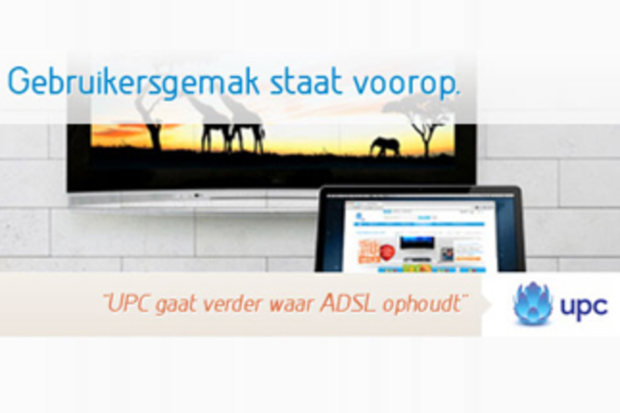 UPC verhoogt in April de internetsnelheden