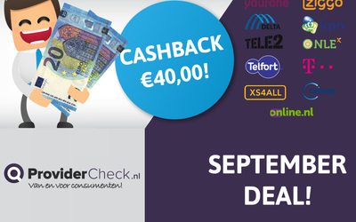 ProviderCheck.nl September deal!