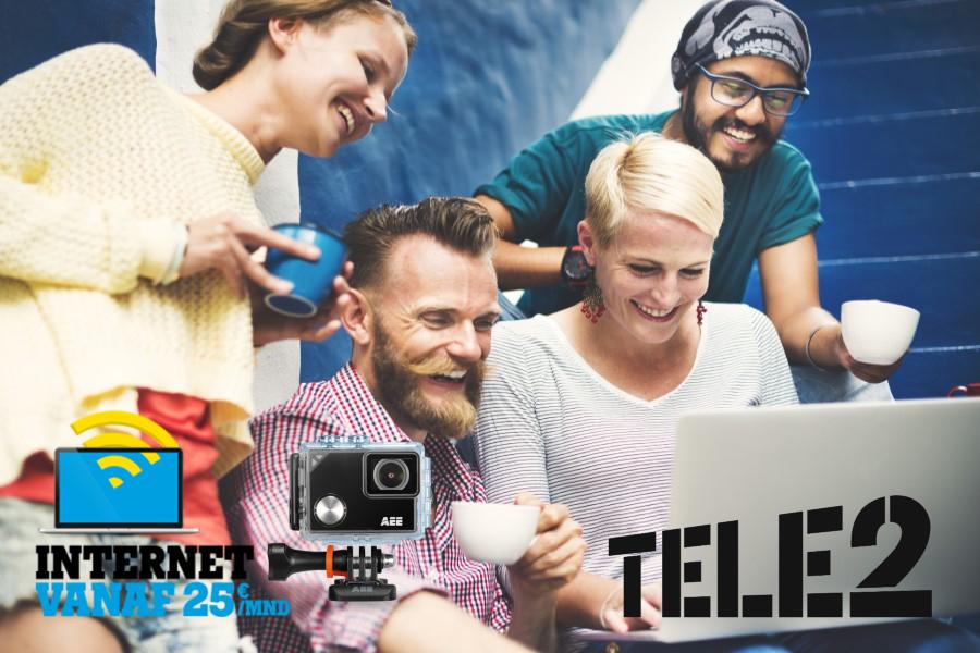 Krijg Nu Van Tele2 Een 4k Action Cam Cadeau Providerchecknl